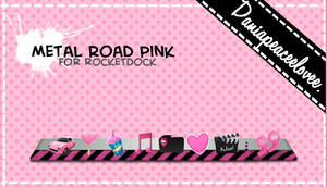 Skin Metal Road pink by DaniaPeaceeLovee
