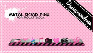 Skin Metal Road pink