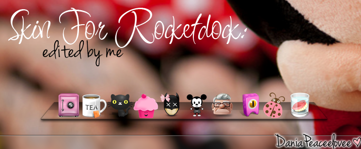 Skin For rocketdock:Edited by me by DaniaPeaceeLovee