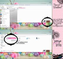 Theme Sonye pink:Edited by me by DaniaPeaceeLovee