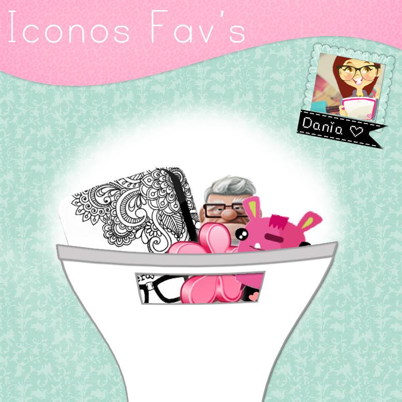 Mis iconos favoritos by DaniaPeaceeLovee