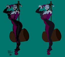 Harley Quinn Flats by Mr-Frisky