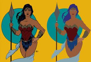 Wonder Woman - Flats by Mr-Frisky