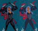 Spider Man And Black Cat - Flats