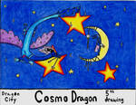 Cosmo Dragon by ReinaCastillo