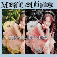 magic action by SophiisticatedArt