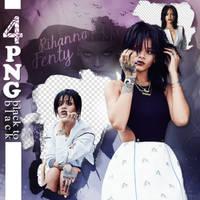 Rihanna Png Pack by EmreHazar