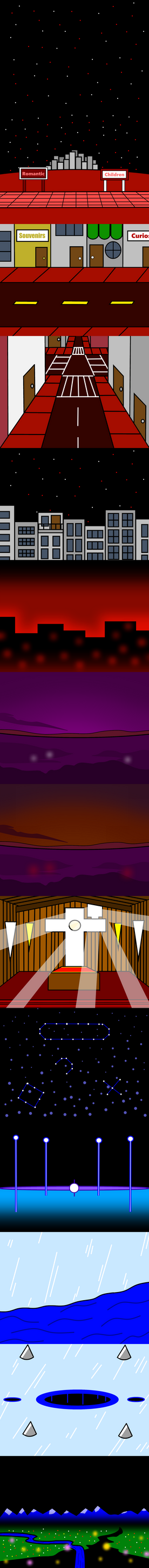Custom Walfas Backgrounds - Welcome to Makai by CameronWallace