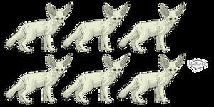 .: FREE Fennec Adoptable Sheet : PSD :.