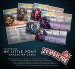ZOMBICIDE custom My Little Pony survivors