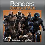Gears of War Renders Pack