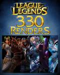 League of Legends Renders Pack