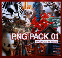 Png Pack 01 by cataclysmicly