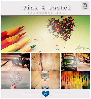 Pink n' Pastel PSD
