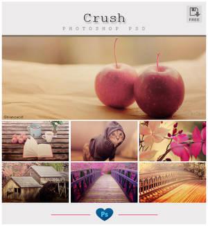 Crush Photoshop PSD