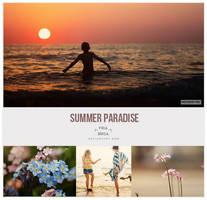 Summer paradise PSD by friabrisa