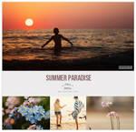 Summer paradise PSD