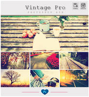 Instagram Vintage Pro - Photoshop ATN by friabrisa