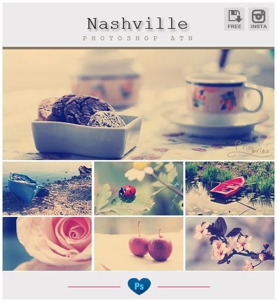 Instagram Nashville - Photoshop Action by friabrisa