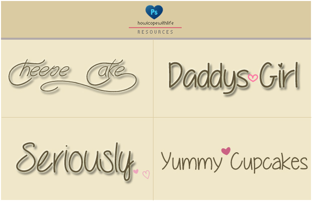 Random Fonts by friabrisa