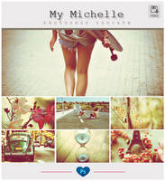 My Michelle - Photoshop PSD-ATN by friabrisa