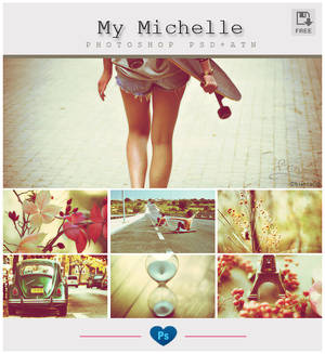 My Michelle - Photoshop PSD-ATN