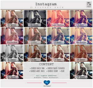 Instagram 13 Filters - PS Actions
