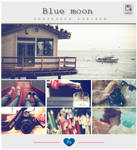Blue moon - Photoshop PSD + ATN