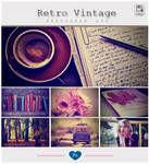 Retro Vintage - Photoshop Action