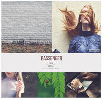 Passenger - Photoshop PSD