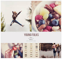 Young folks - Photoshop PSD