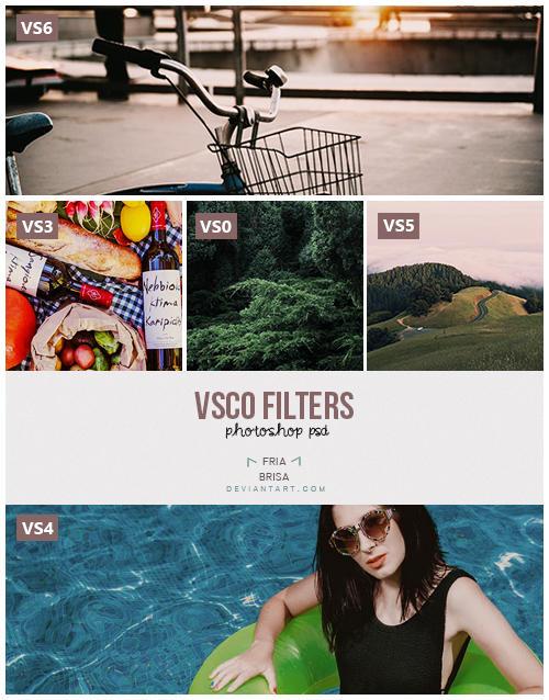 VSCO by friabrisa - Photoshop PSD