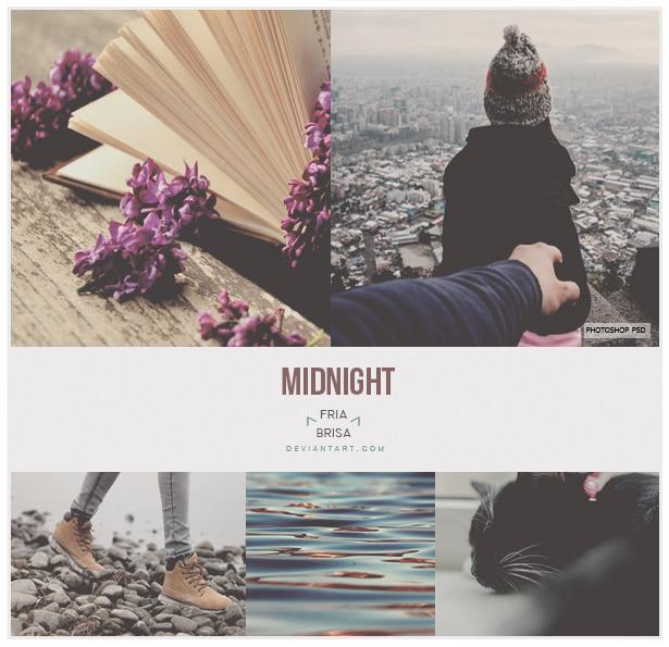 Midnight - Photoshop PSD