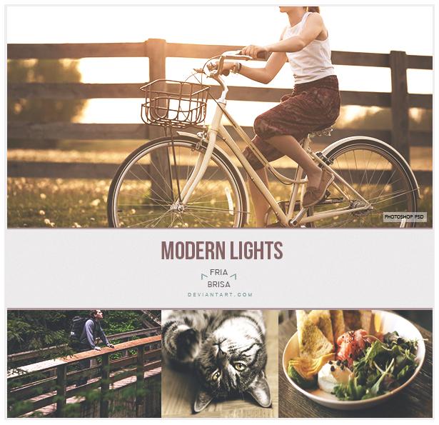Modern Lights - Photoshop PSD
