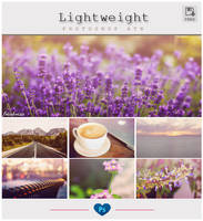 Lightweight - Photoshop Action by friabrisa