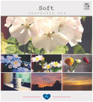 Soft effect - Photoshop Action