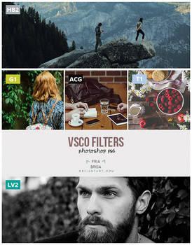 VSCO Cam filters .PSD