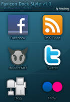 Favicon Dock Style v1.0 by jparmstrong