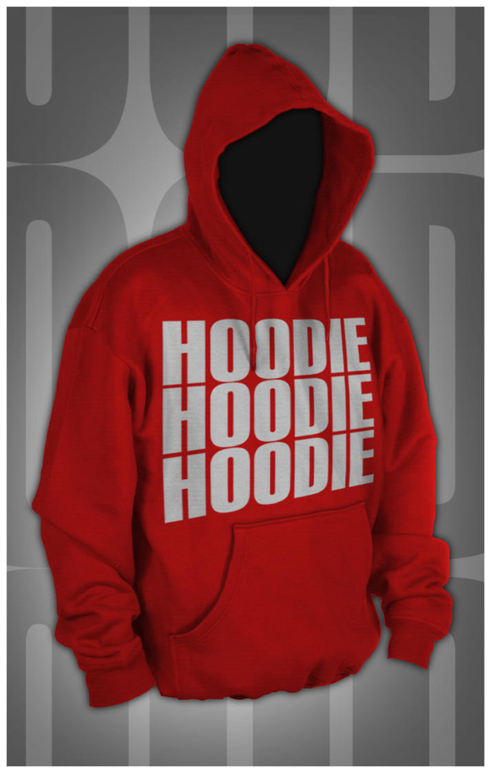 Hoodie Template - no zipper by screenbk