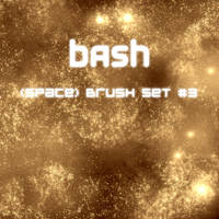 Bash -- Space Brush Set_3 by B-a-s-h