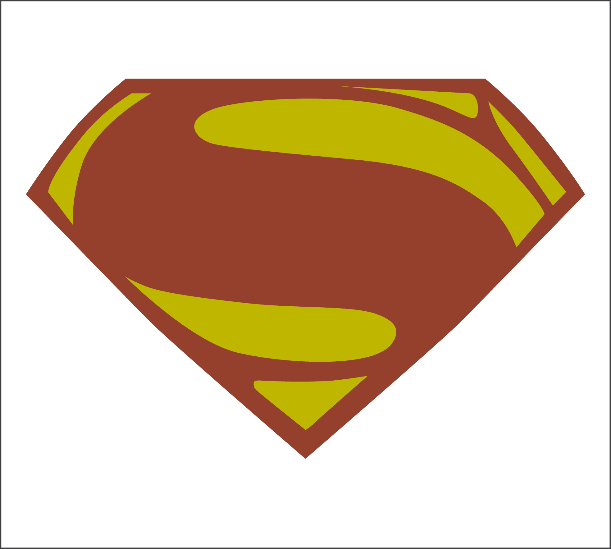Superman Logo Man Of Steel Png