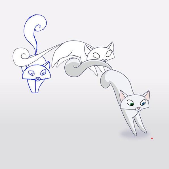 Pangur Ban Animation
