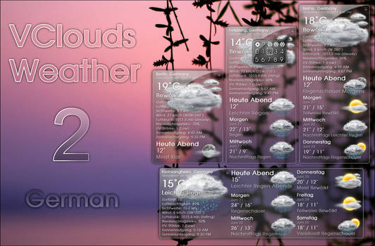 VClouds Weather 2 German