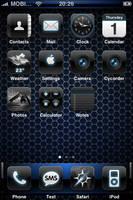 Blue theme - iPhone