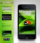 MiniSlider iPhone iOS4 theme
