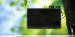 Glass PSD