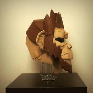 Cardbord' Mask
