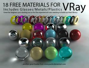 18 Free VRay Materials