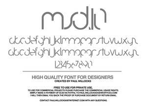 MSD.10 Typeface