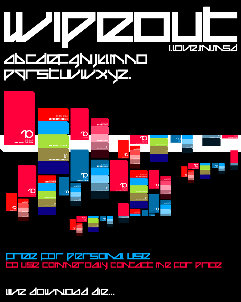 Wipeout Typeface